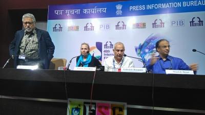 """Conférence de Presse """"Extravagant India !""""du 26 nov 2015 dans le cadre de l'IFFI"""