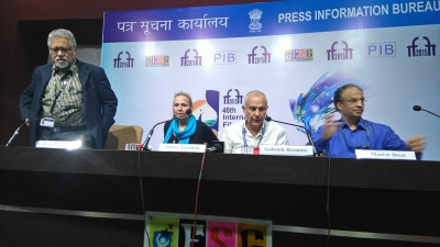 "Press Conference  ""Extravagant India !"" nov 26th, 2015 in the frame of IFFI"