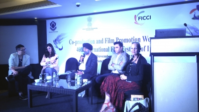 FICCI - Panel about co-production and Film Promotion world wide