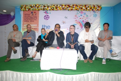 Satik Kaushik, jury chairman and the members of the International Jury