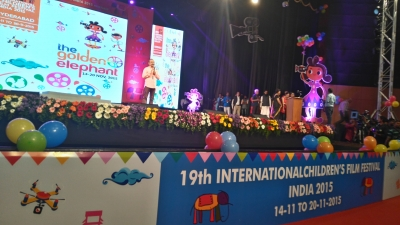 Shyam Kurup, Directeur du Golden Elephant Festival - Cérémonie de Clôture