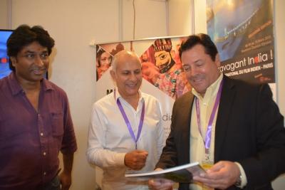 "Stand ""Extravagant India !"" au Indywood Film Market"