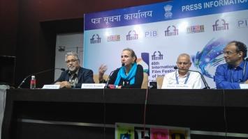 """Conférence de Presse """"Extravagant India !"""" à l'IFFI - GOA 2015"""